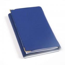 تقویم سه لت گوشه فلزی 98 جلد یوف (با دفتر تلفن و یادداشت)