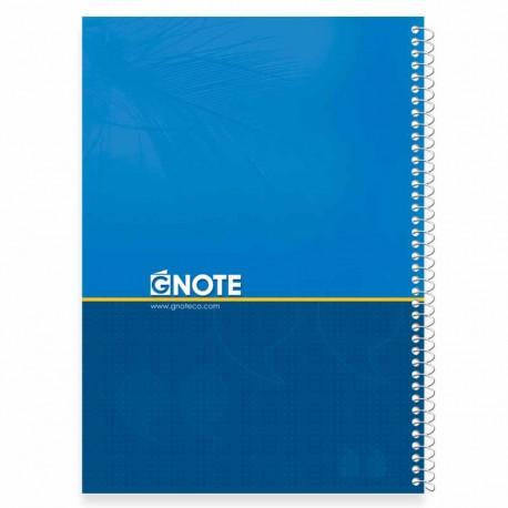 دفتر جلد سخت 100 برگ فنری