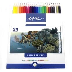 مداد رنگی 24 رنگ ttm