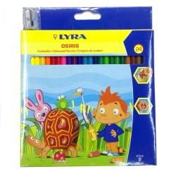 مداد رنگی 24 رنگ لیرا (اصل المان)