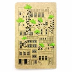 دفتر فانتزی گلدوزی (طرح خانه ها)