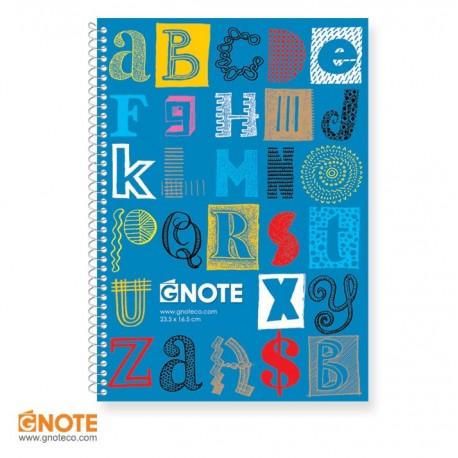 دفتر جلد کلاسیک دو خط زبان 40 برگ