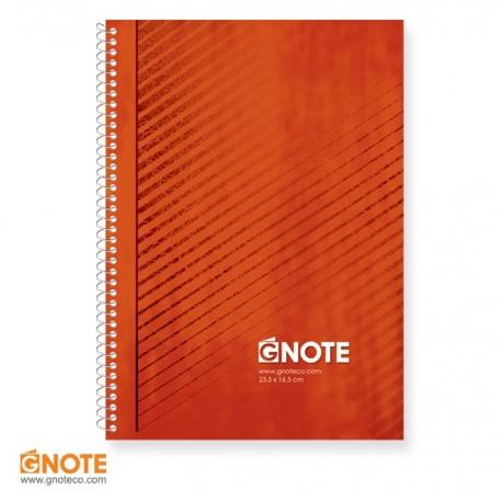 دفتر جلد کلاسیک دو خط زبان 100 برگ