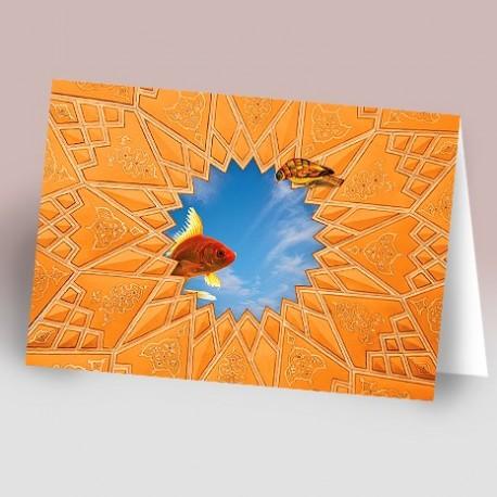 کارت پستال 14.5×21 (کچبري و ماهي آسمان)