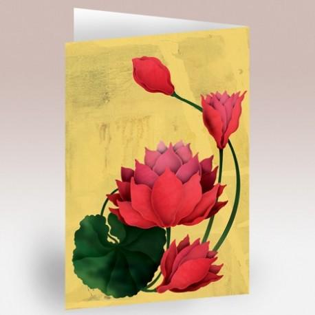 کارت پستال 14.5×21 (گل مرداب)